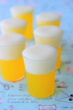orange flavor beer jelly w/ Japanese recipe.  as good for father's day