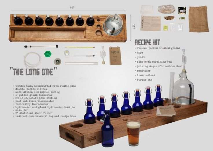 Compact Home Brew Kits For Making Beer in Small Spaces Available at the Laughing Squid Store