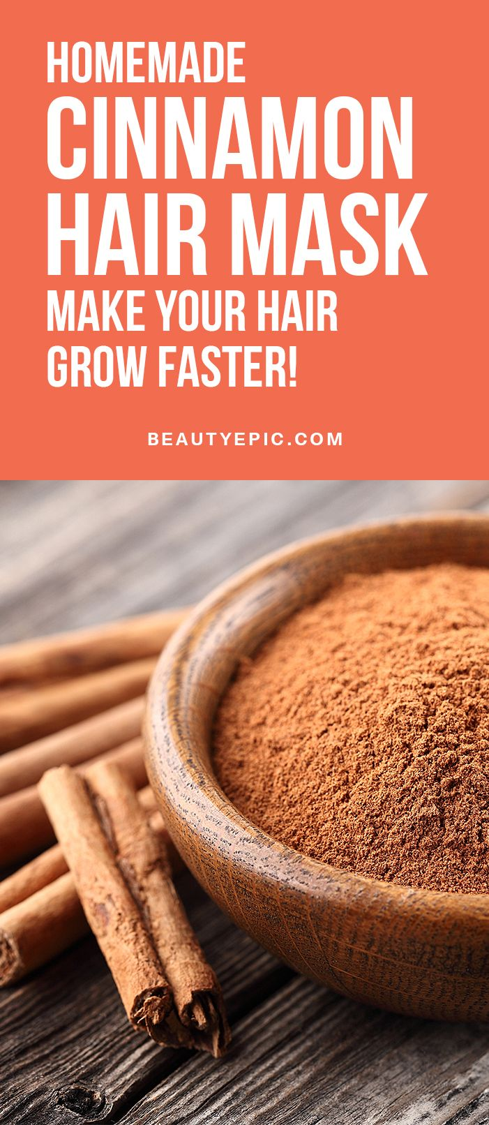 Homemade Cinnamon Hair Mask: Make your Hair Grow Faster!