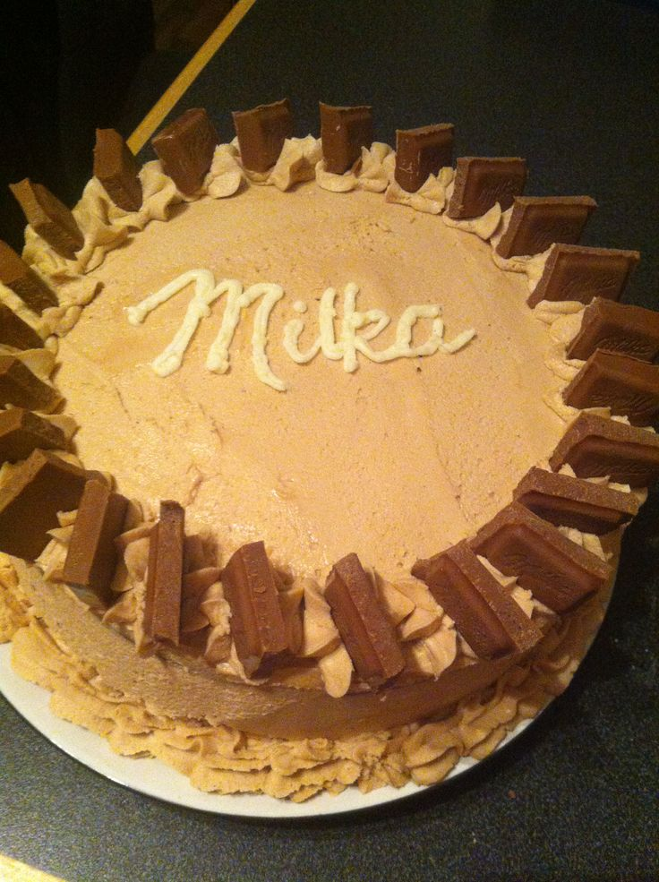 Milka chocolate cake!