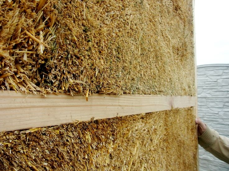 strow panels and straw house