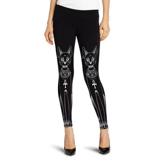dc4d6851d97 Egyptian Bastet Cat Leggings