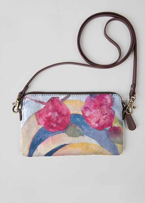VIDA Statement Clutch - City Lilies 7b by VIDA Cg8wmIBCwn