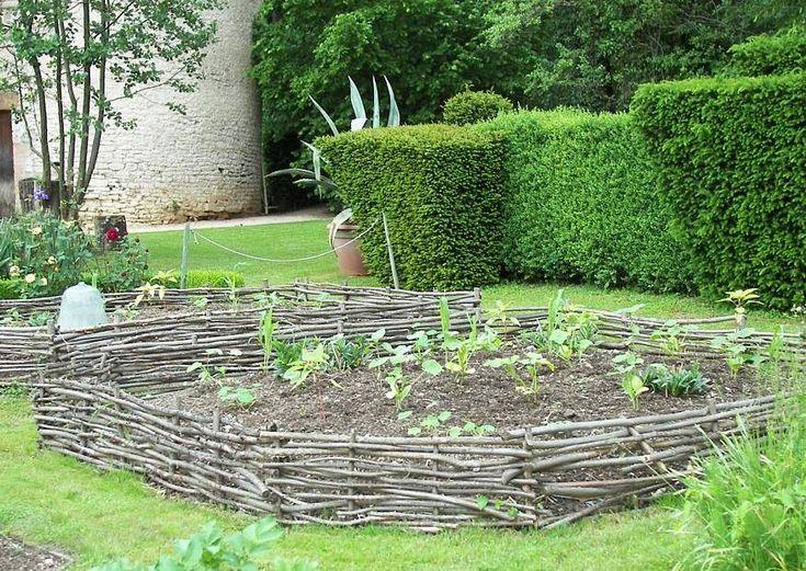55 best Garten images on Pinterest Garden fencing, Backyard ideas - gartenplanung beispiele kostenlos