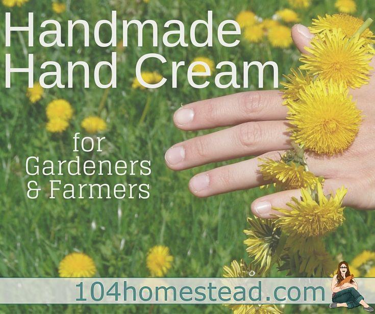 how to make hand cream