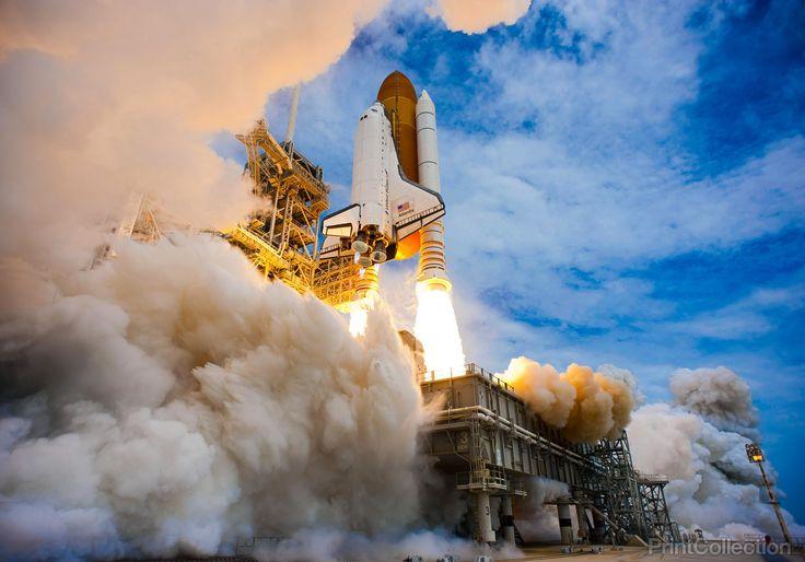 Atlantis Liftoff of STS-135