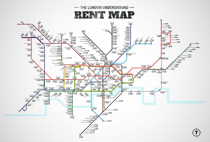 The figures reflect the cost of a one-bedroom property within a kilometer of each Tube station on the network (but not the Circle Line because as Thrillist points out 'literally every station is present on another line.') Sept 2015