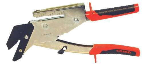 Slate Cutter With Punch - EDMA Slate Tile Cutter, Cuts slates up to 6mm thick , with spring loaded handles. Will also punch holes in slate tiles. http://www.rapidtoolsdirect.co.uk/category/roofing-tools
