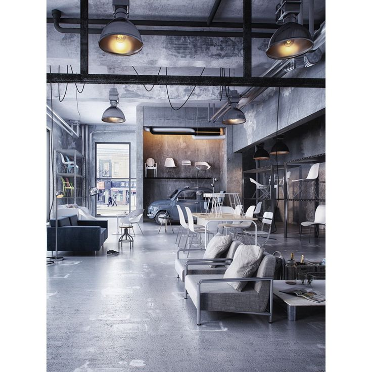 846 best Industrial Interiors images on Pinterest Industrial - industrial vintage wohnhaus loft stil