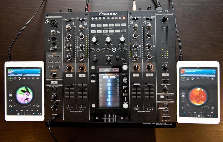 use dj mixer as a cdj