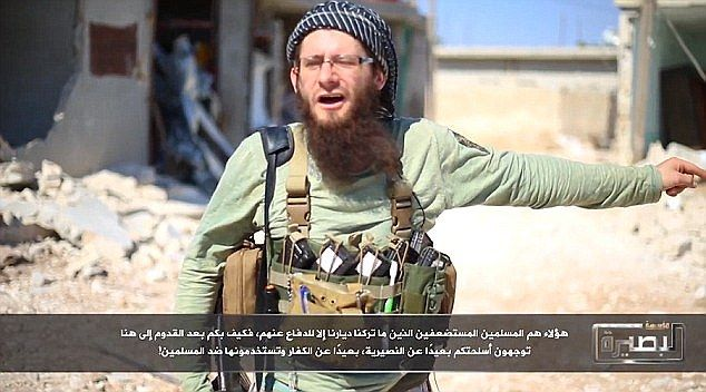 British son of Hollywood movie director, 26, is revealed as bloodthirsty star of al-Qaeda propaganda videos after converting from Catholicism and smuggling himself to Syria