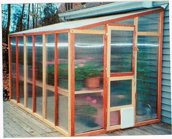 If I tuck one of these lean to greenhouses under my eves in the back yard it would be two stories tall. Oh the things I could grow.
