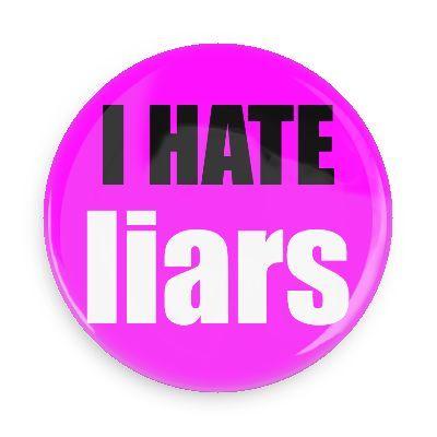 I hate liars