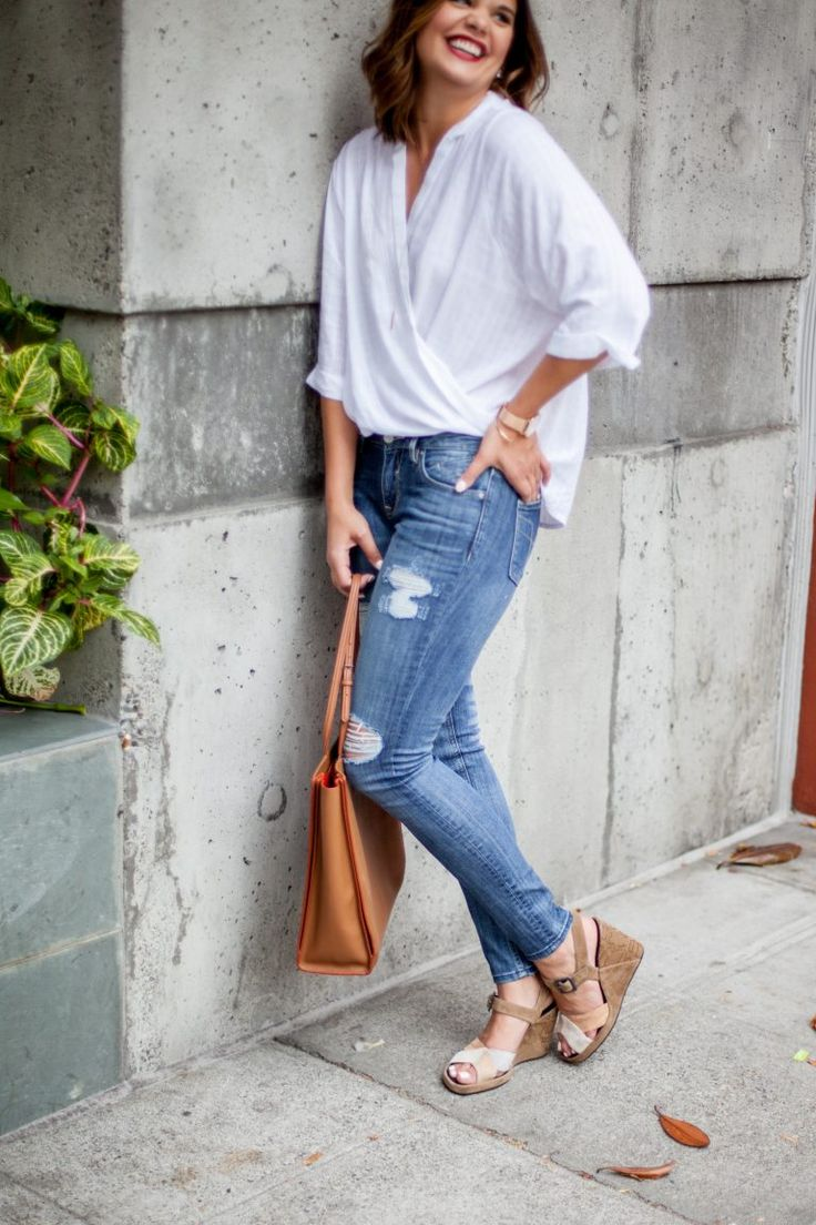 How To Fearlessly Deal with Trials   Distressed Jeans   HERboutique.com