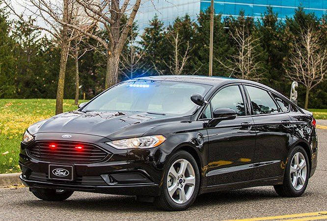 The Ford Police Responder Hybrid Sedan The Fuzz Is Going Green