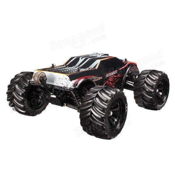 JLB Racing CHEETAH 1/10 Brushless RC Car Monster Trucks 11101 RTR Sale…