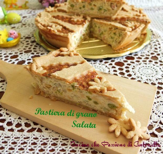La pastiera salata... una rivisitazione, in chiave salata, del più classico dolce partenopeo...