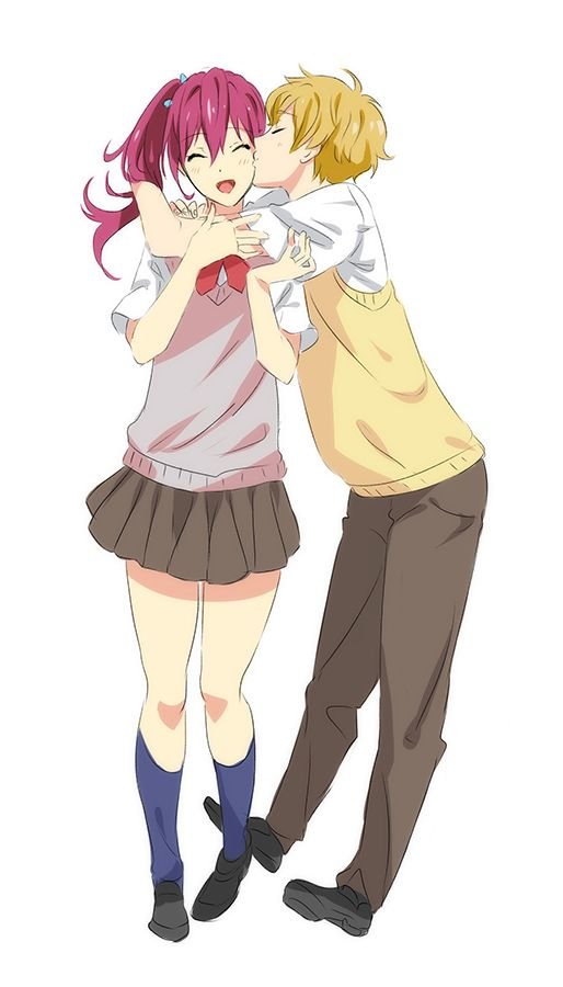 SO APPARENTLY THIS IS A THING AND IM NOT HAPPY ABOUT IT BECAUSE I VICIOUSLY SHIP NAGISA X REI