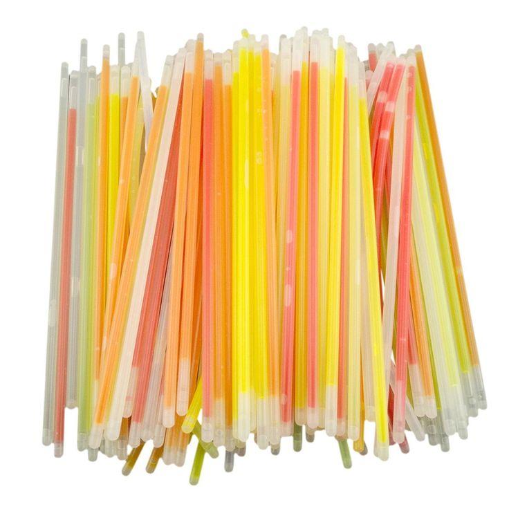 "Amazon.com: THZY 100 8"" Light up Glow Sticks Bracelets Necklaces Mixed Colors Party Supplies: Toys & Games"