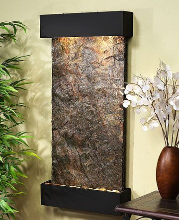 25 best ideas about indoor waterfall wall on pinterest - Interior Wall Water Fountains