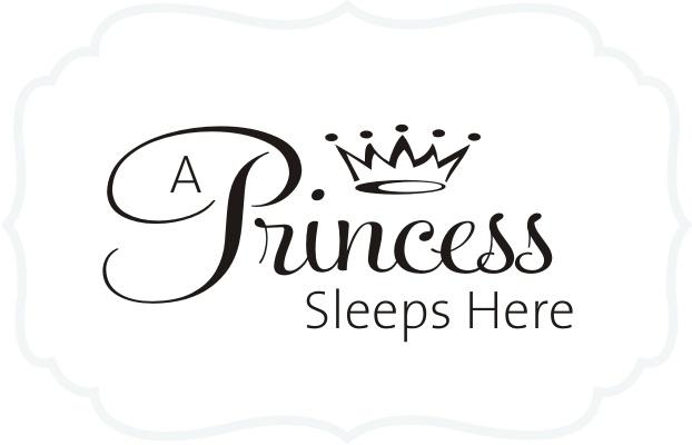 "Princess Vinyl Design for my little ""Princess"""