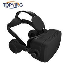 Todo En Uno Auriculares 3D Gafas de Realidad Virtual VR VR HDMI 2.0 Andriod 5.1 Octa Core 2 GB/32 GB TV Versión Con Auriculares Inalámbricos