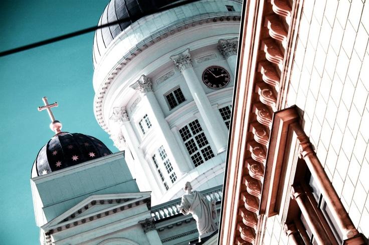 Helsinki Senate Square and Cathedral by Sami Törönen