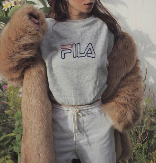 fashion, Fila, and style imageの画像