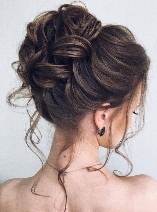 Epingle Par Corinne Curadeau Sur Hair Styles Coiffure Cheveux Mi Long Mariage Coiffure Demoiselle D Honneur Chignon Haut Mariage