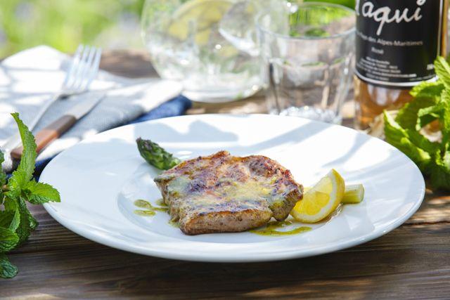 フランス産ビゴール豚の炭火焼き | レシピブック | レストラン | Plan・Do・See
