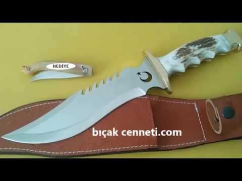 Geyik boynuzu bıçak