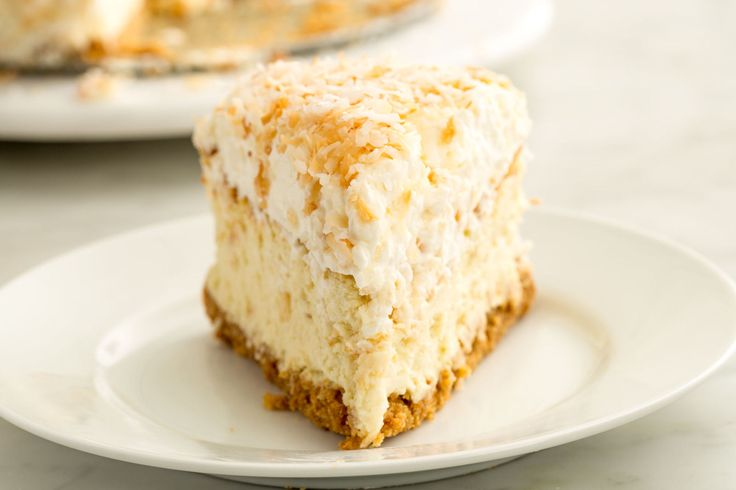 Toasted Coconut Cheesecake
