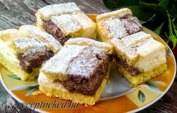 Csokis-vaníliás pite -- Receptneked.hu