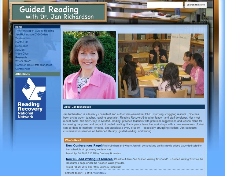 next steps in guided reading resources