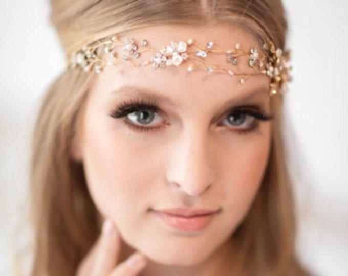 crystal braut kopfschmuck hairclips tassel kopfbedeckungen rose haarnadeln