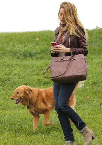 15 Dog-Walking Outfit Ideas Inspired by Celebrities - Blake Lively from #InStyle
