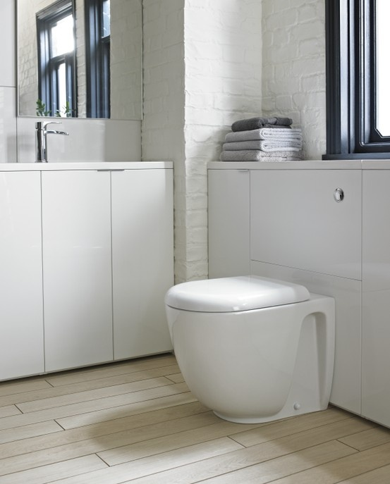 Freeform Back To Wall Pan -http://www.bathstore.com/products/freeform-back-to-wall-pan-1785.html