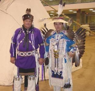 I love that this company is a small family owned company  thats primary business is creating traditional  dance regalia for the Native  American community.  Rick is  best known for his feather  work, such as dance bustles and fans.  He is of both Muskogee and Eastern Band  Cherokee heritage.  They got involved in Boy Scouts when their son, now an Eagle Scout, became a tiger in Cub Scouts.  They created arrows for the boys Arrow of Light ceremony and word spread quickly to packs around the…
