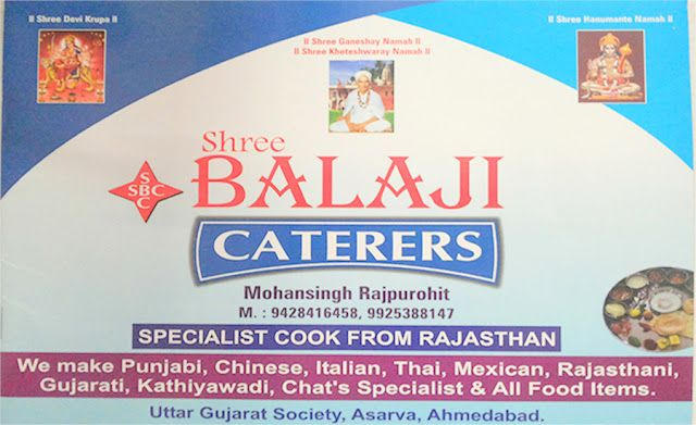 Shree Balaji Caterers are the only Tent House and Catering services in Ahmedabad that believes in rendering five star services to all our customers in quality, quantity.