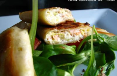 750 grammes vous propose cette recette de cuisine : Samoussas au saumon fumé et au boursin. Recette notée 4/5 par 9 votants