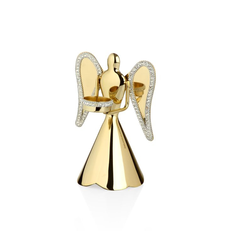 Bernardo Melek Şamdan / Angel Candle Holder #bernardo #tabledesign #candle #tealight #mum