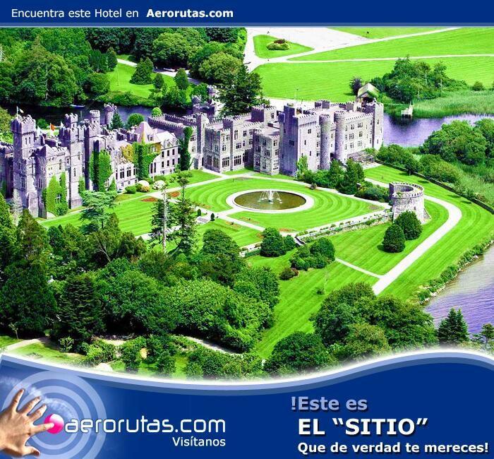 Visita este mágico lugar, hospédate en el Castillo Ashford en Irlanda. #Irlanda #travel #traveltips #viaje #turismo #hoteles