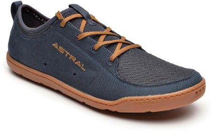 Astral Loyak water shoes deliver excellent grip and supreme comfort on water or land. Self-draining, Flex-Grip outsoles promote balance and keep you in touch with the feel of the ground. Available at REI, 100% Satisfaction Guaranteed.