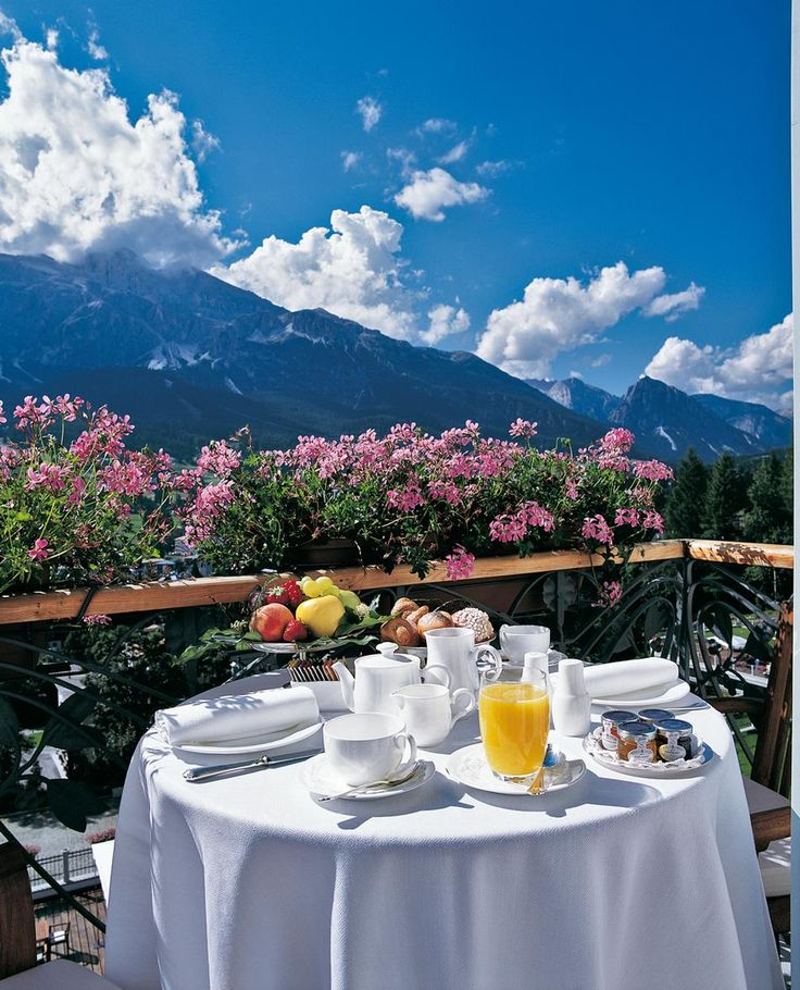 The Italian Alps---you and I right here, sharing a romantic moment  :-)