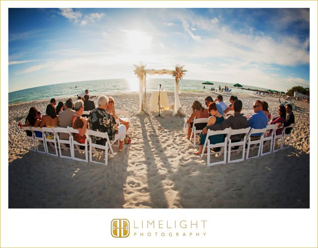 Lido Beach Resort, aisle, ceremony, blue sky, beach, Wedding, Limelight Photography www.stepintothelimelight.com