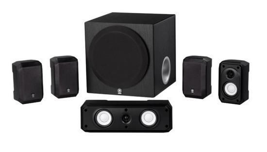 Yamaha Home Theater Speaker System Sound Surround Satellite Subwoofer Stereo New #Yamaha