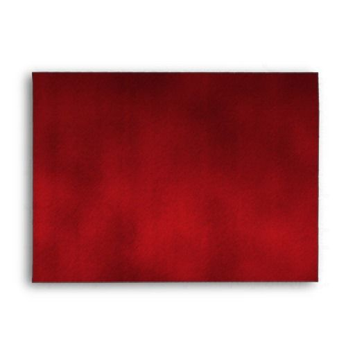 Red Gothic Ombre Background Art Envelopes