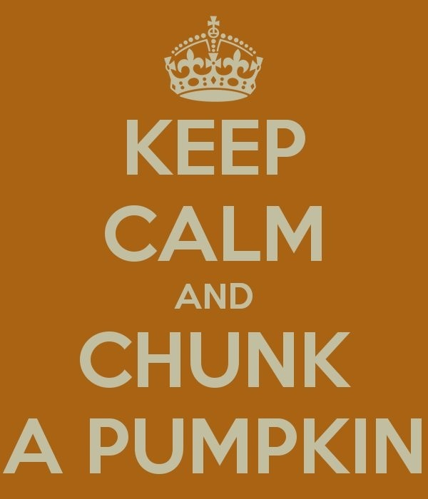 Pumpkin Chunkin!!