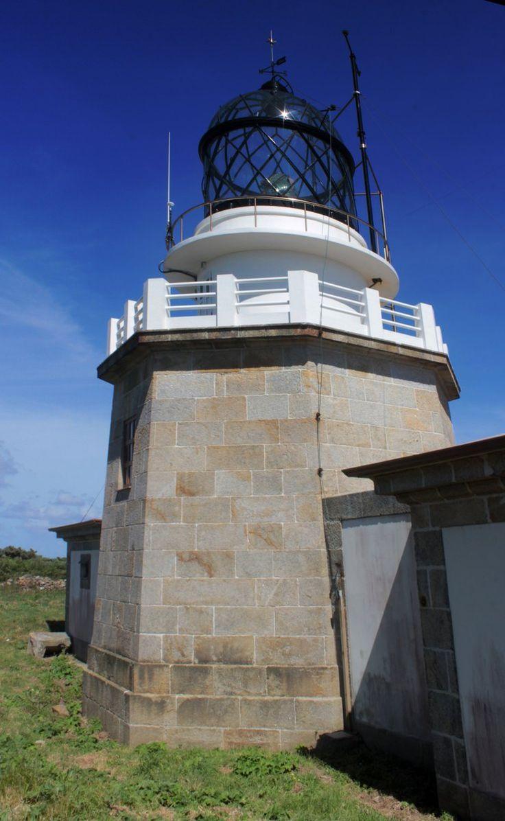 Farol do Cabo de Estaca de Bares, costa norte da Galiza.