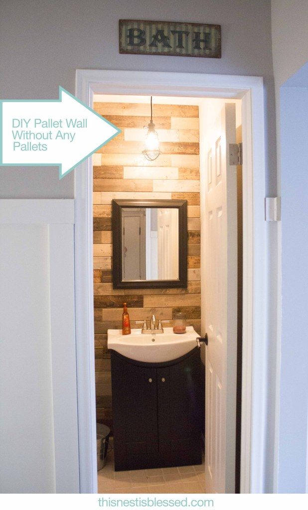 Weekend Bathroom Makeover…For $150 | This Nest Is Blessed